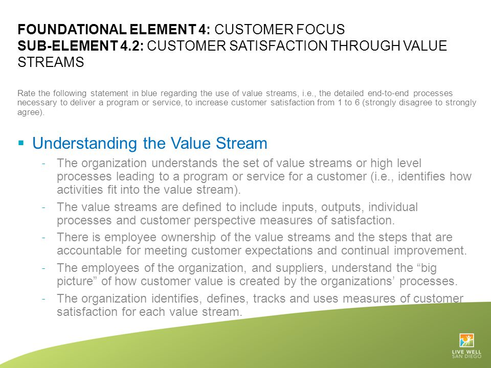 Understanding the Value Stream