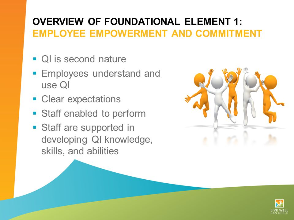 Overview of Foundational Element 1: employee Empowerment and commitment