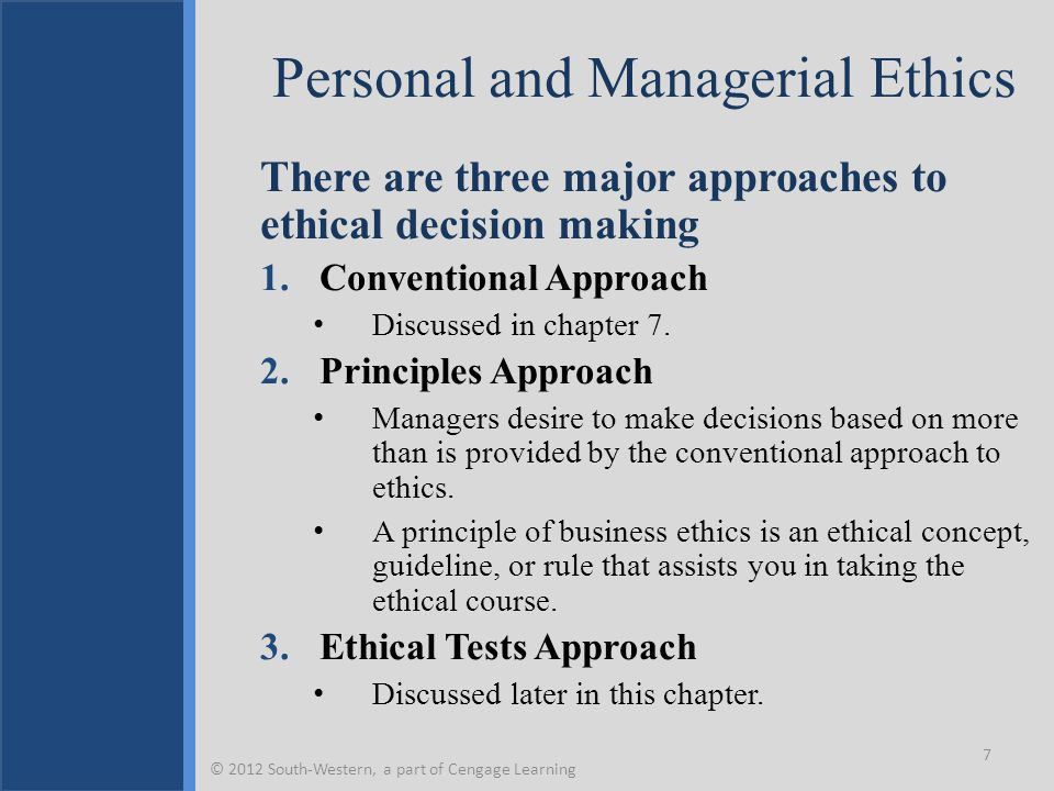 three approaches manager can use on decision making