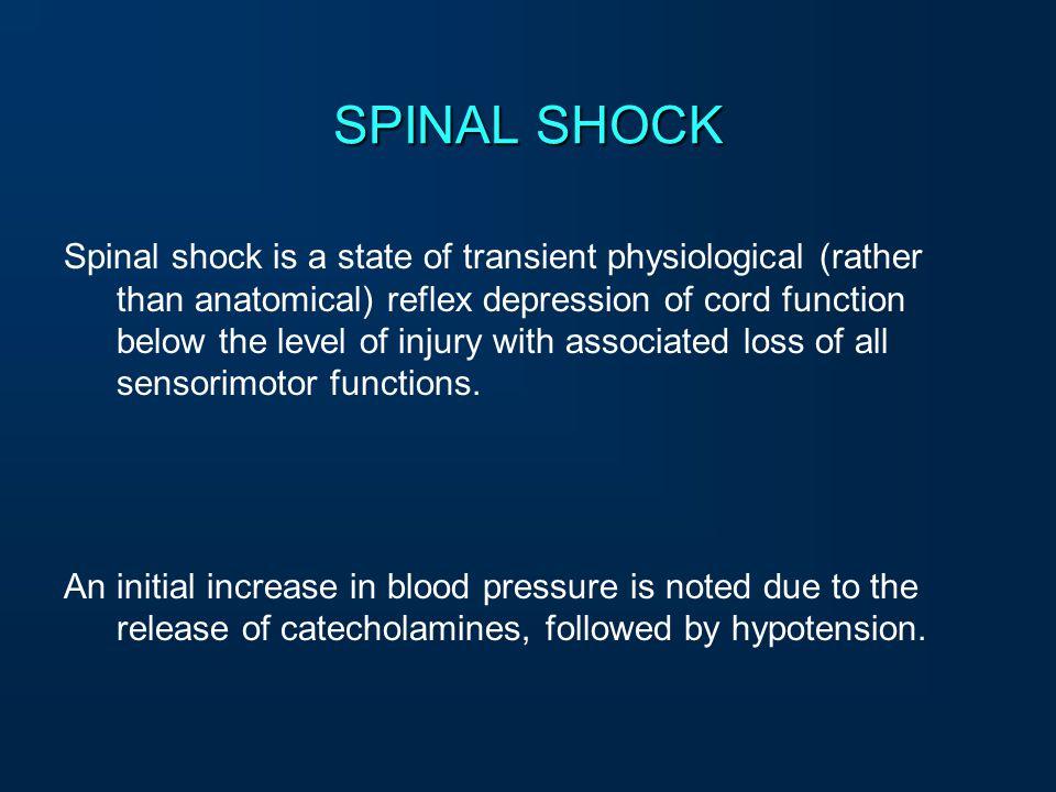 SPINAL SHOCK