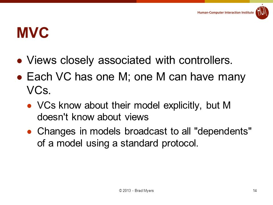 MVC Views closely associated with controllers.