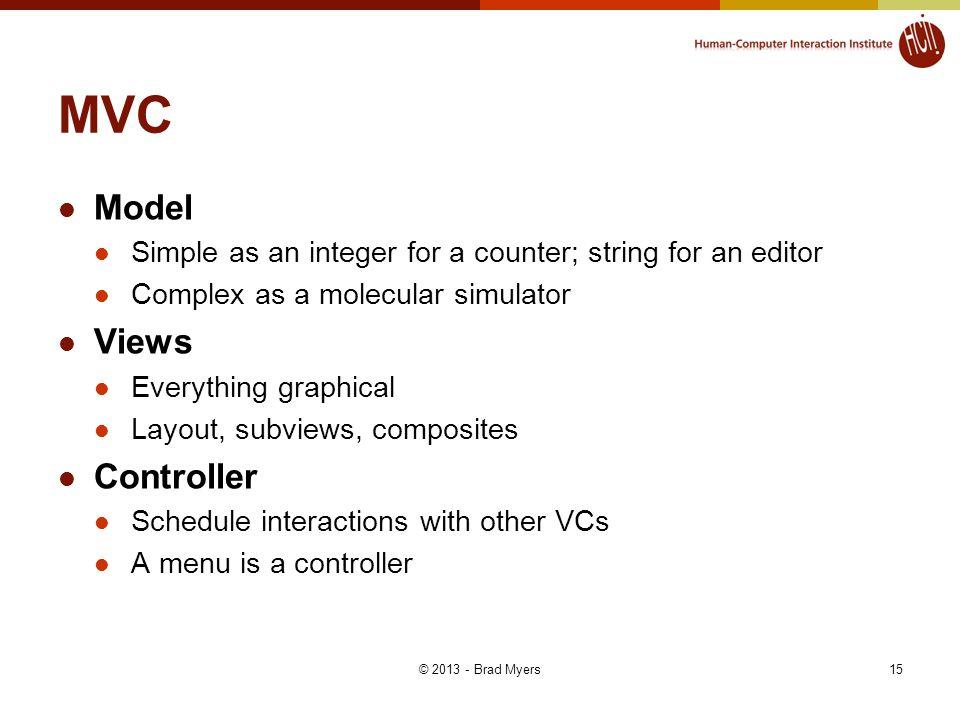 MVC Model Views Controller