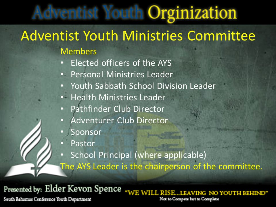Adventist Youth Ministries Committee