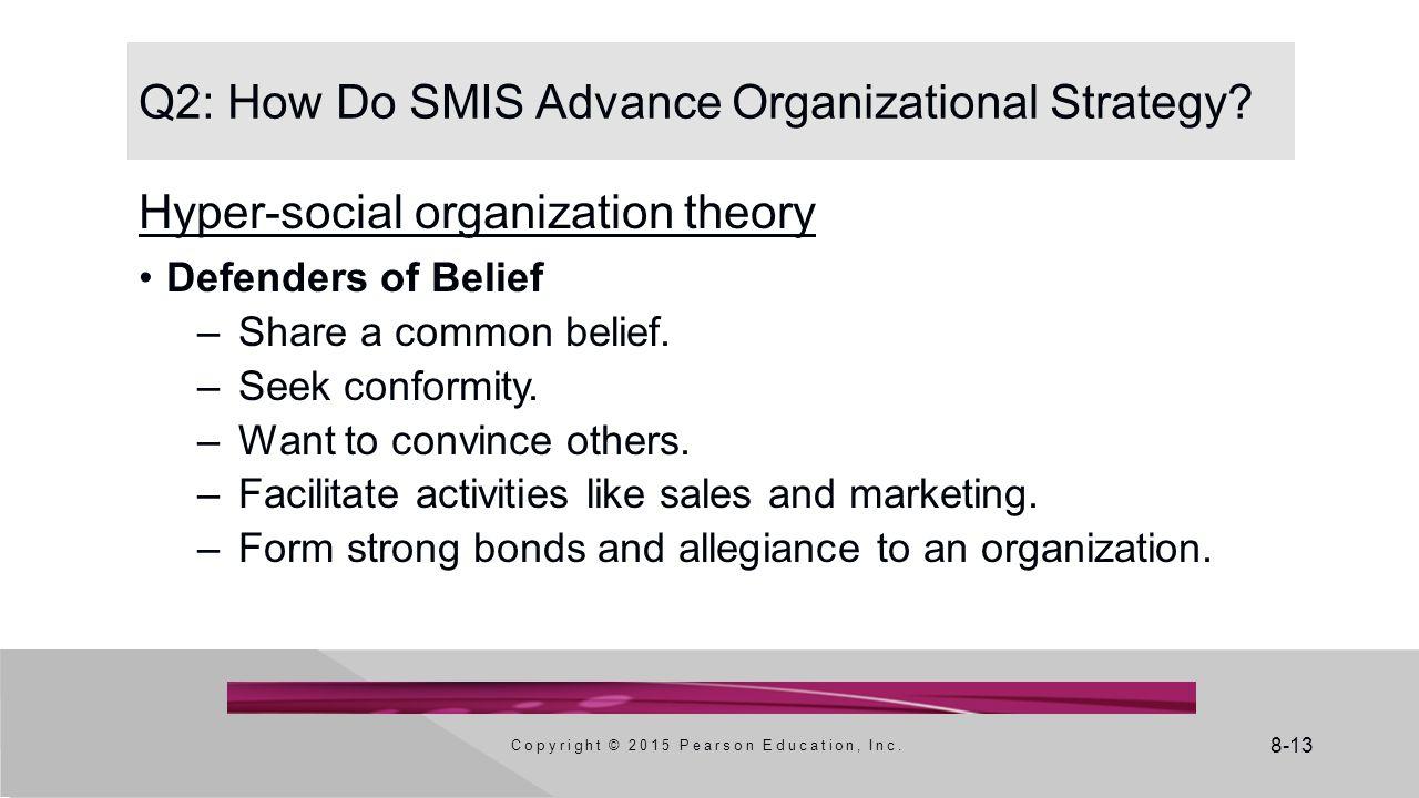 Q2: How Do SMIS Advance Organizational Strategy