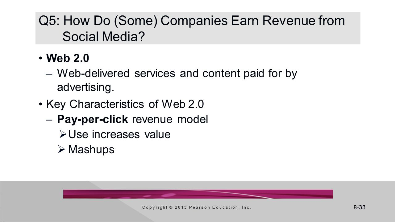 Q5: How Do (Some) Companies Earn Revenue from Social Media