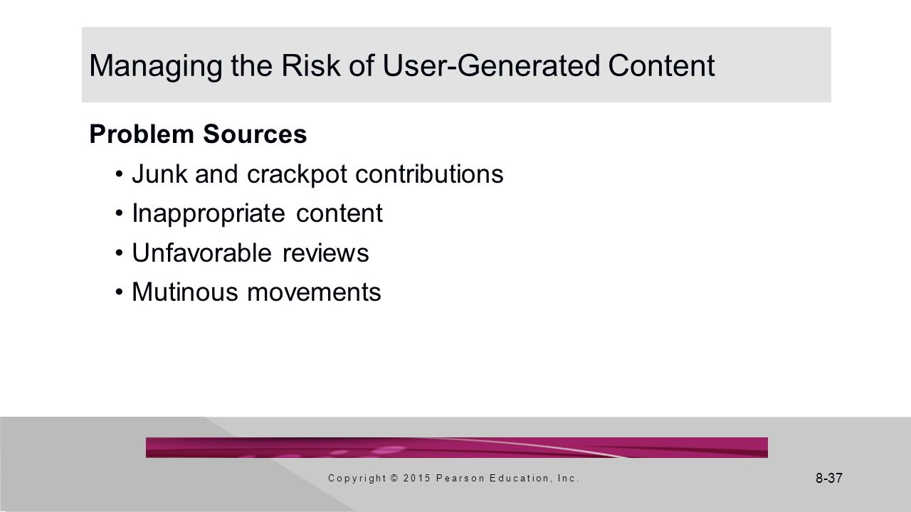 Managing the Risk of User-Generated Content