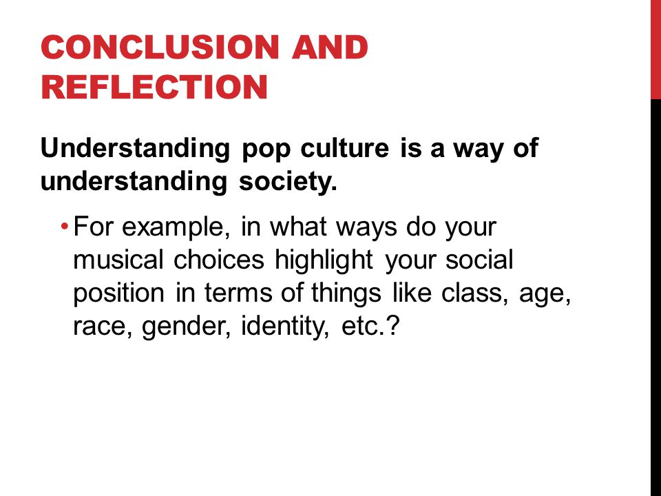 Conclusion and Reflection
