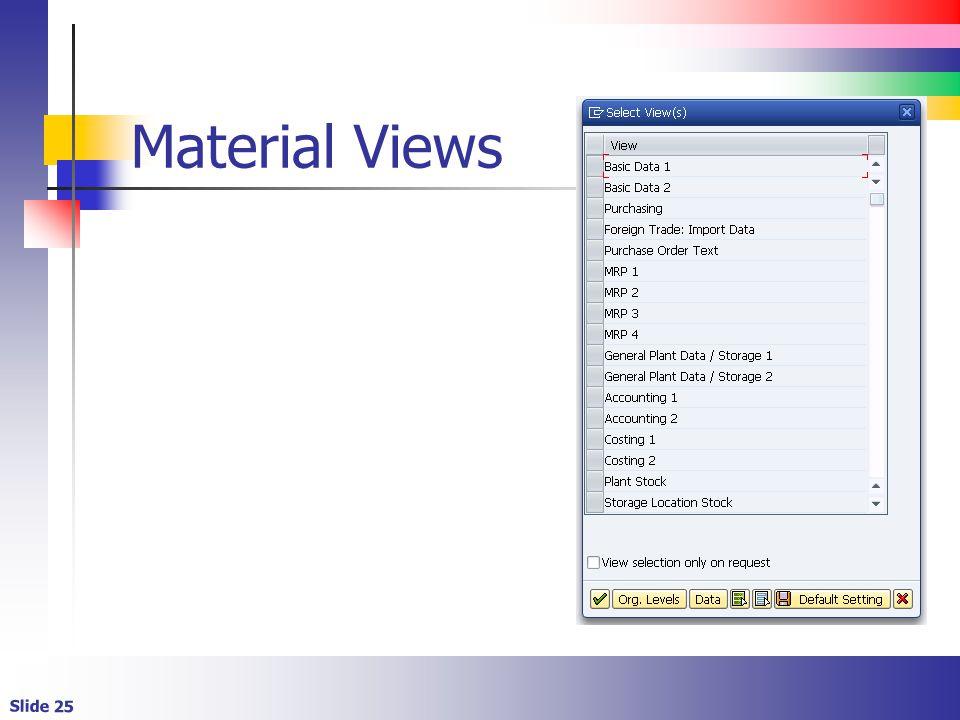 Material Views