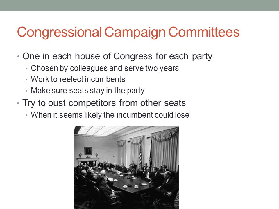 Congressional Campaign Committees