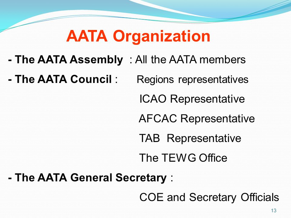 AATA Organization - The AATA Assembly : All the AATA members