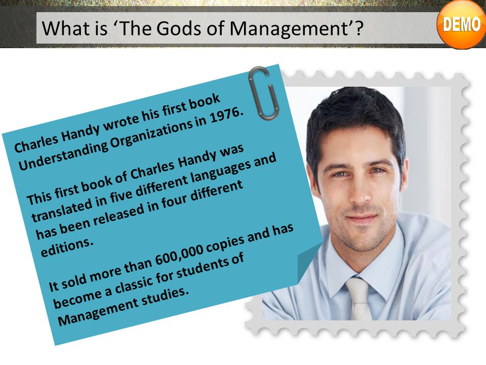 What is 'The Gods of Management'