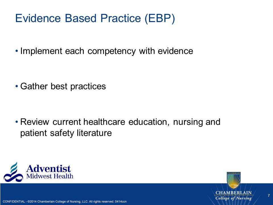 Evidence Based Practice (EBP)
