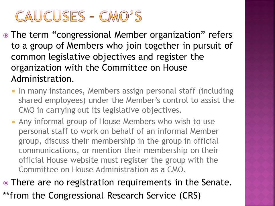 Caucuses – Cmo's