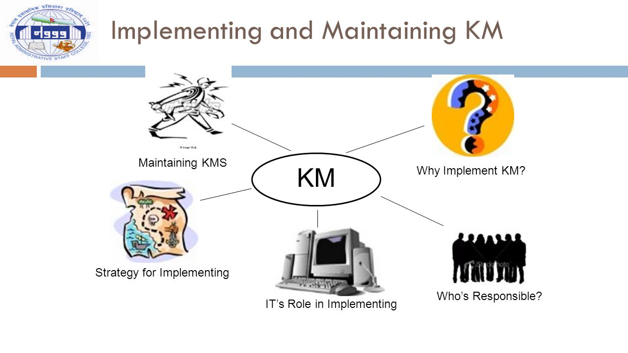 Implementing and Maintaining KM