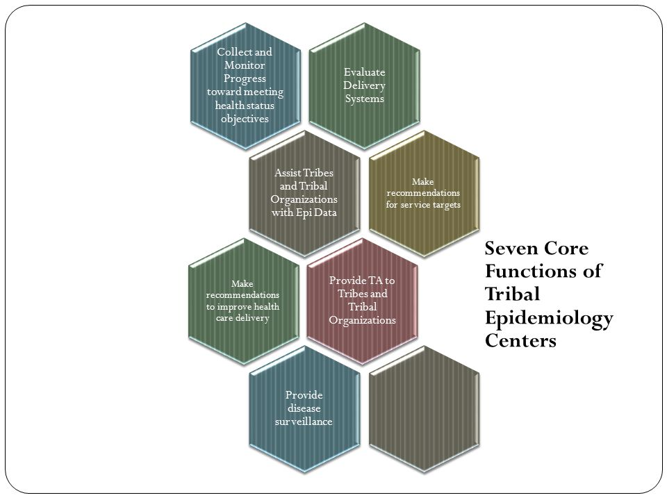 Seven Core Functions of Tribal Epidemiology Centers
