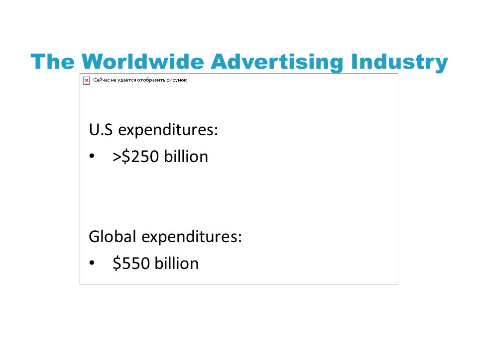 The Worldwide Advertising Industry