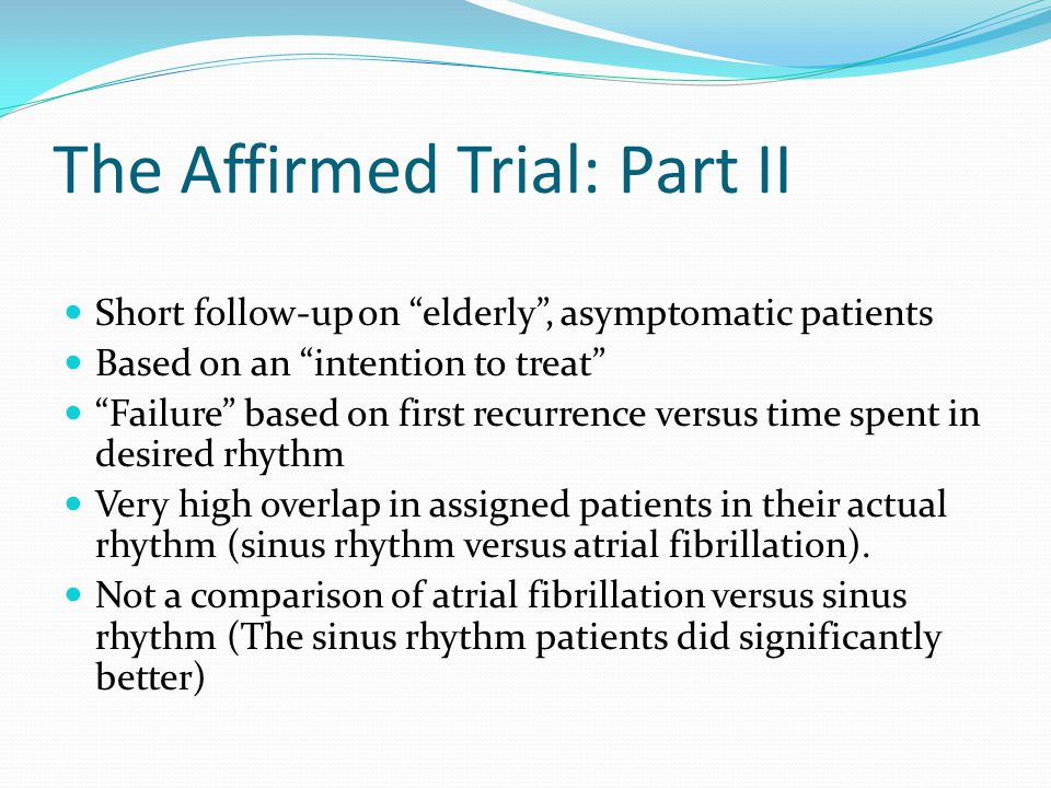 The Affirmed Trial: Part II