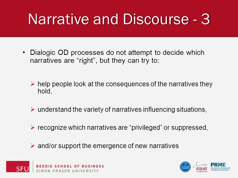 Narrative and Discourse - 3