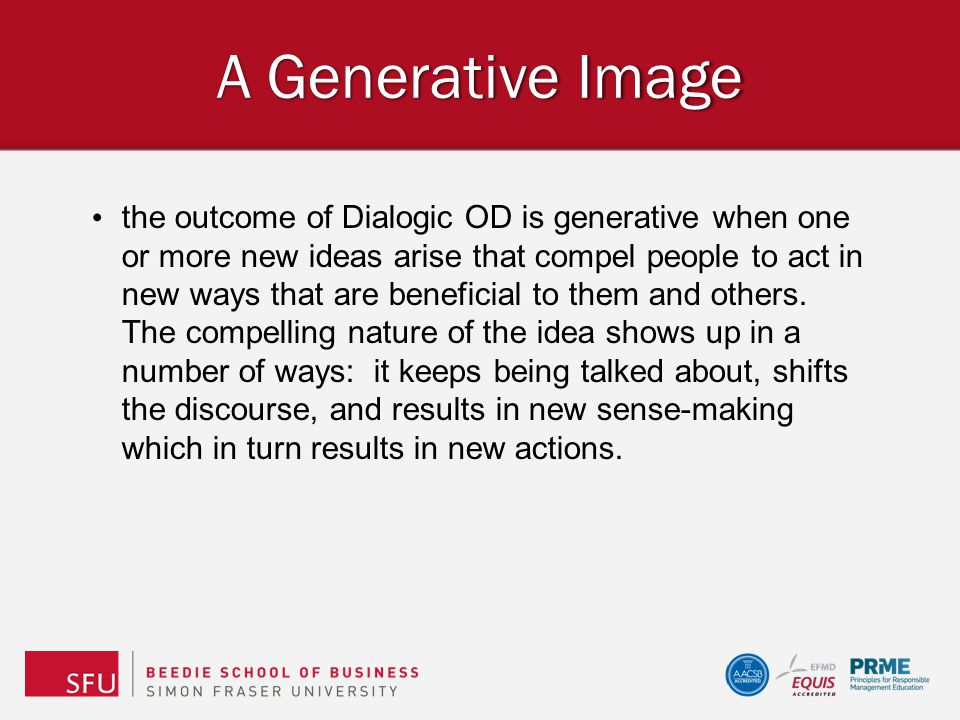 A Generative Image