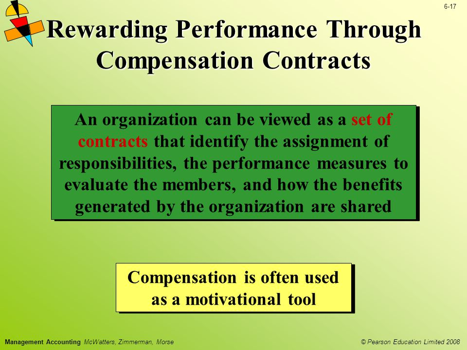 Rewarding Performance Through Compensation Contracts