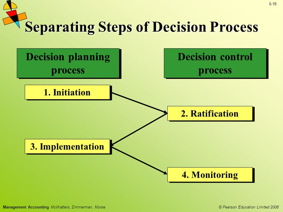 Separating Steps of Decision Process