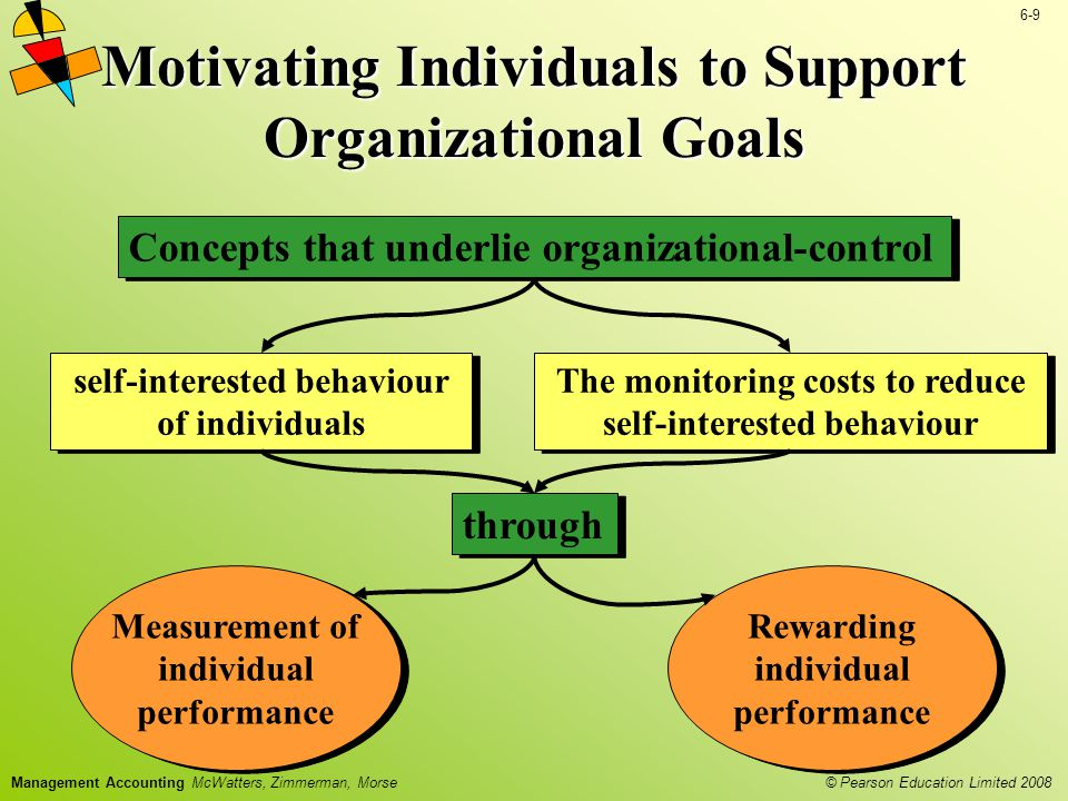 Motivating Individuals to Support Organizational Goals