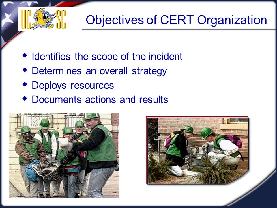 Objectives of CERT Organization