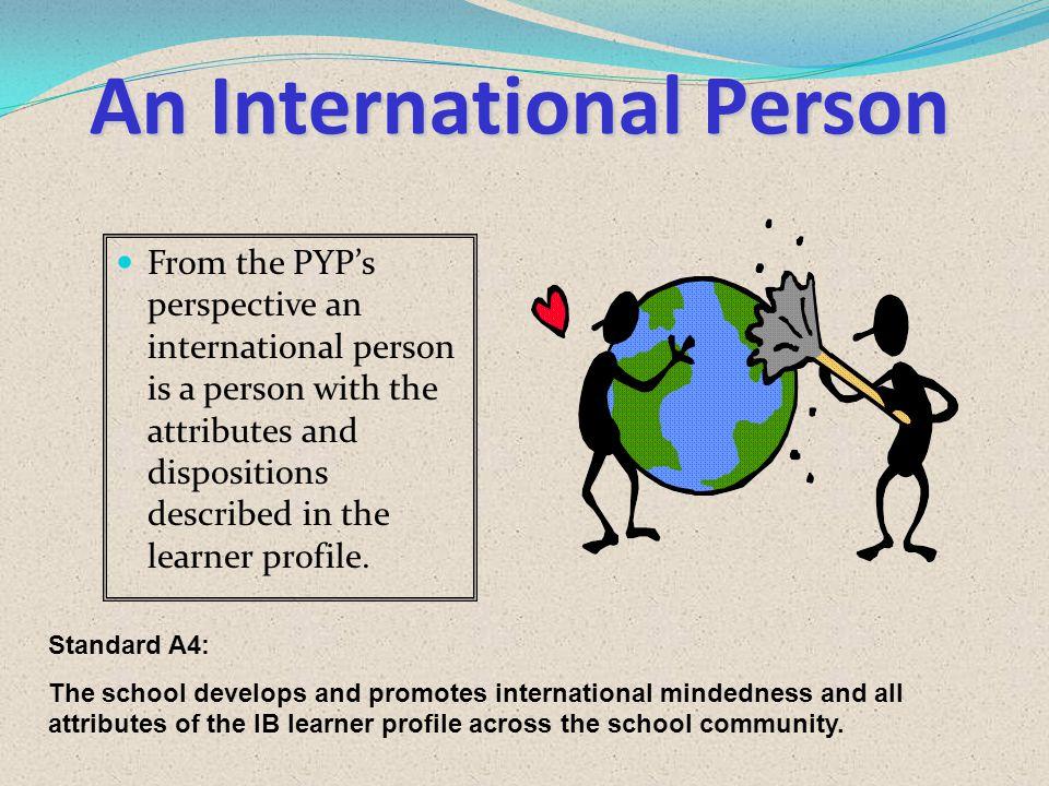 An International Person