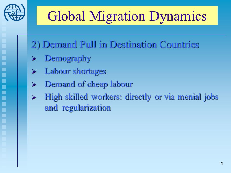Global Migration Dynamics