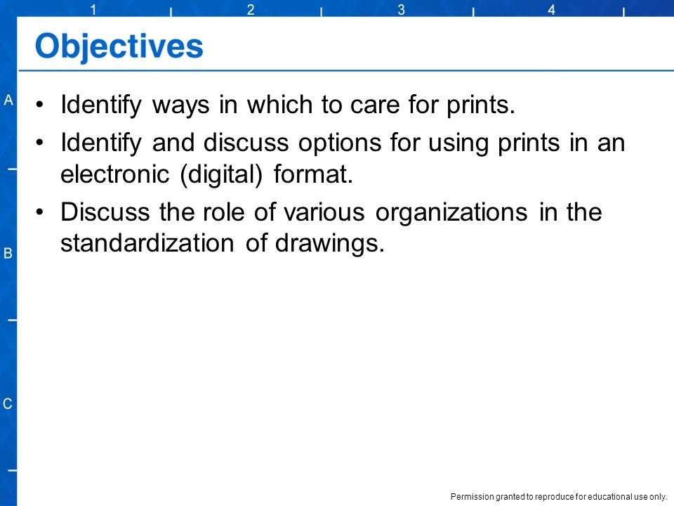 Identify ways in which to care for prints.