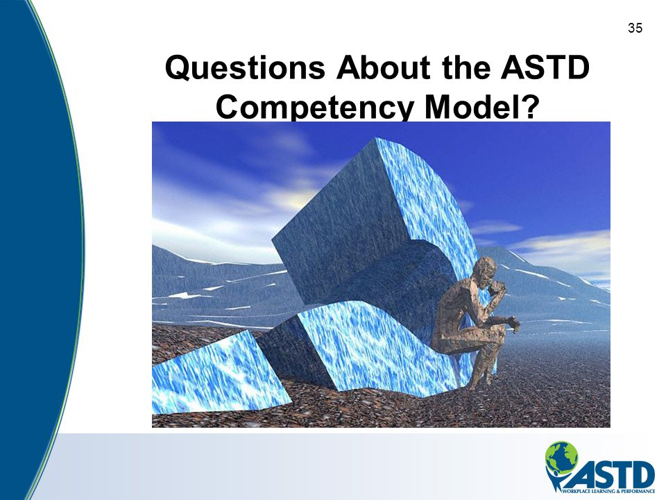 Questions About the ASTD Competency Model