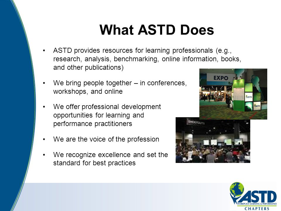What ASTD Does