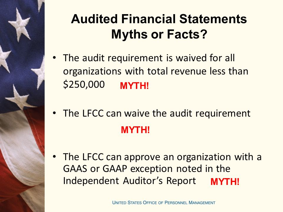 Audited Financial Statements Myths or Facts