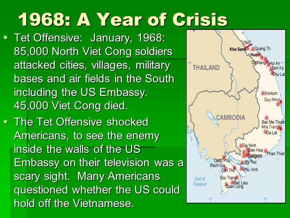 1968: A Year of Crisis