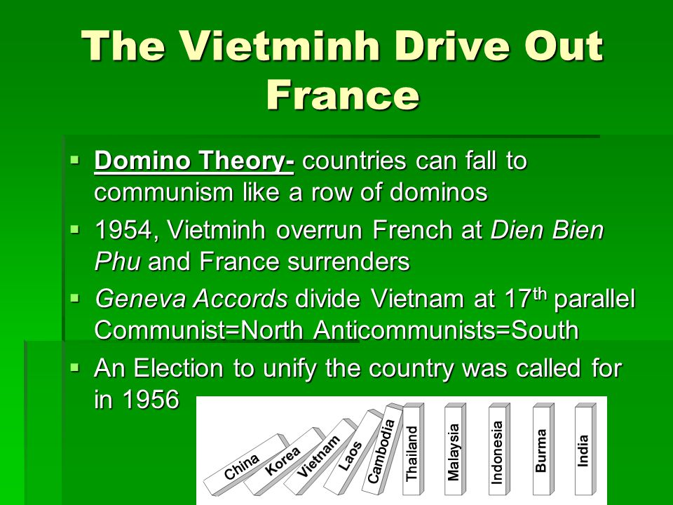The Vietminh Drive Out France