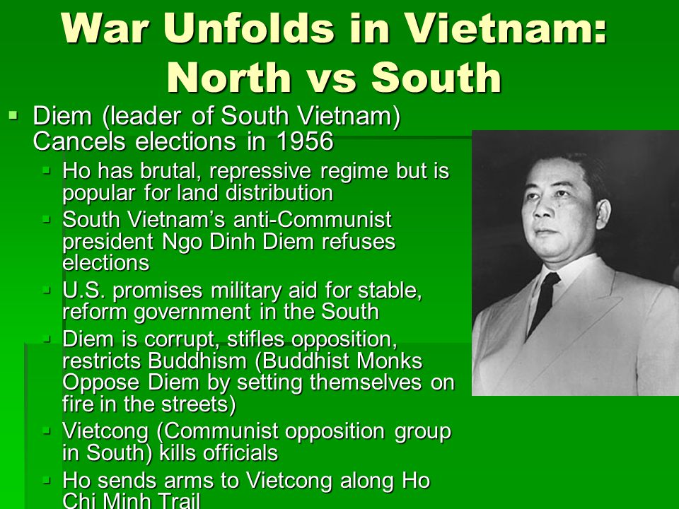 War Unfolds in Vietnam: North vs South