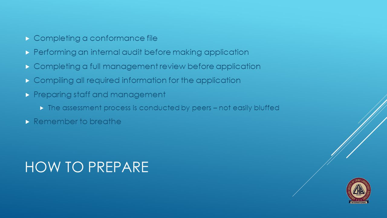 How to prepare Completing a conformance file