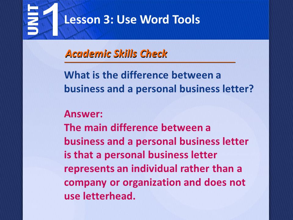 How can Microsoft Word 2007 help you write a business letter