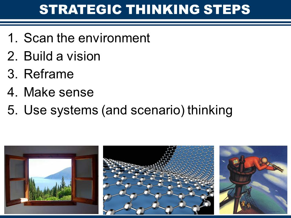 STRATEGIC THINKING STEPS
