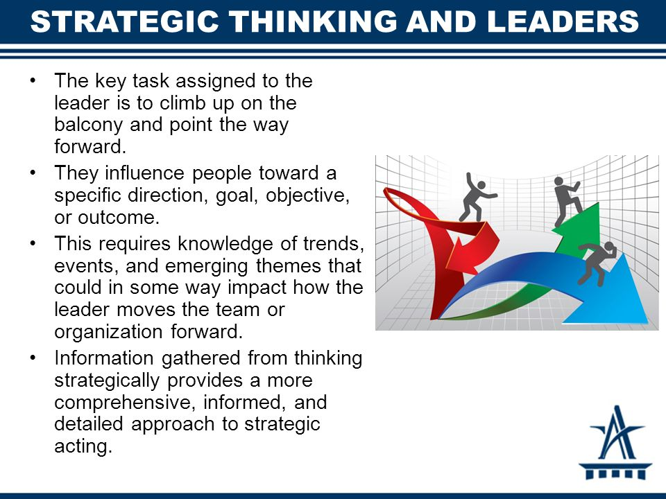 STRATEGIC THINKING AND LEADERS