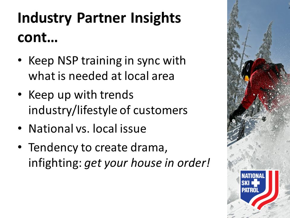 Industry Partner Insights cont…