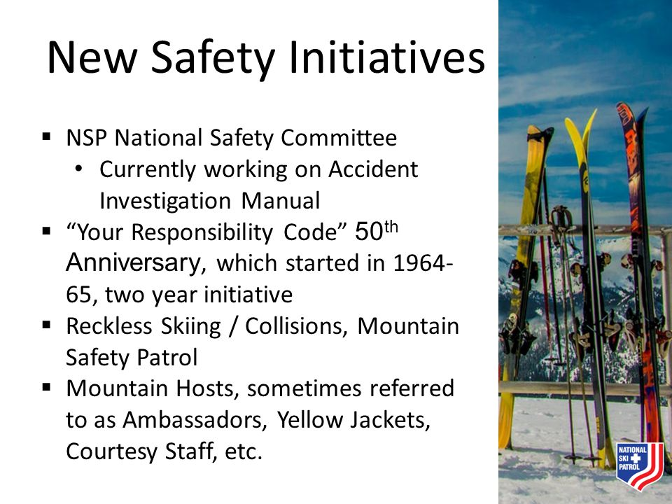 New Safety Initiatives