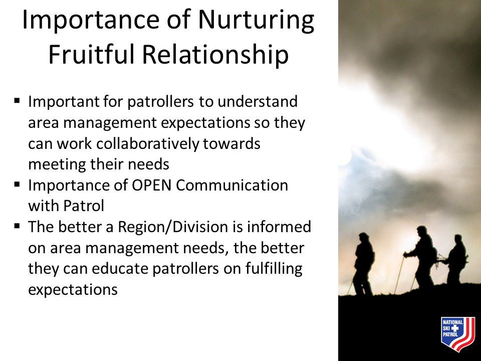 Importance of Nurturing Fruitful Relationship
