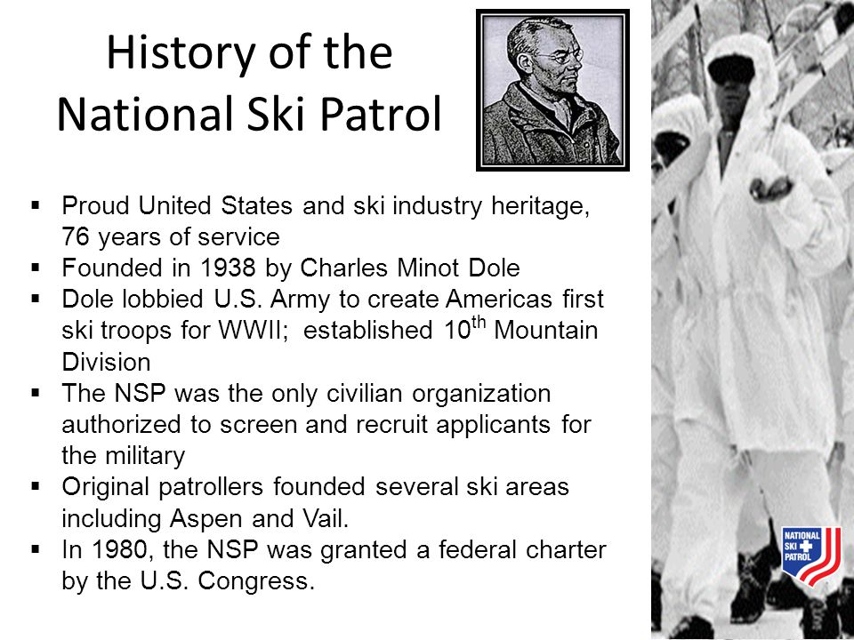 History of the National Ski Patrol
