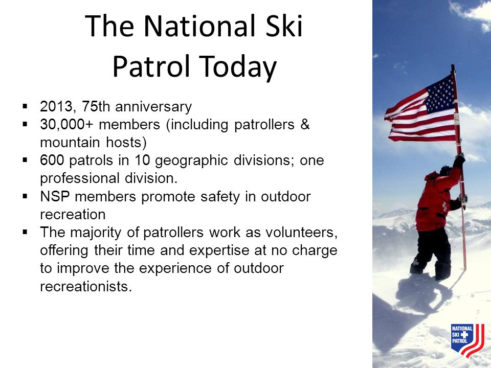 The National Ski Patrol Today