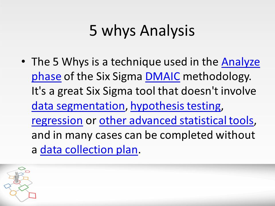 5 whys Analysis