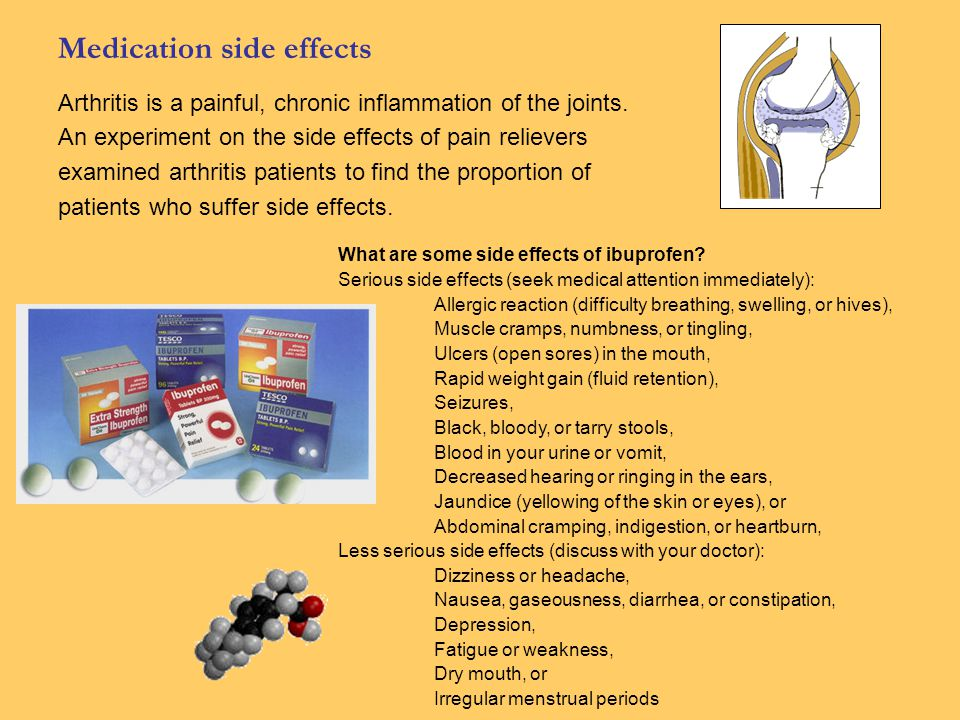 Medication side effects