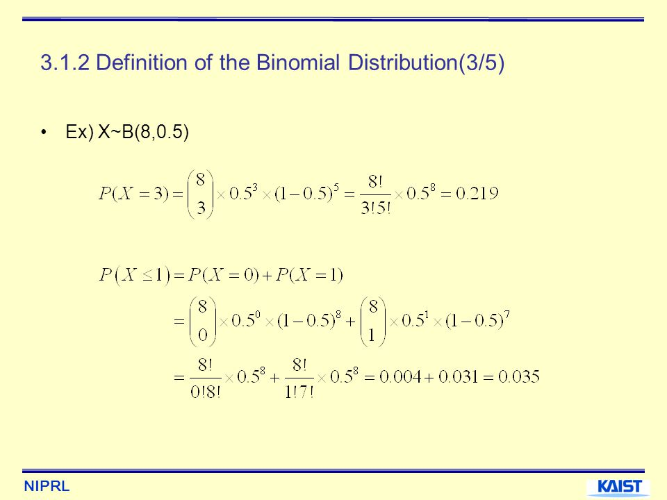 3.1.2 Definition of the Binomial Distribution(3/5)