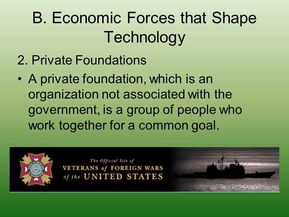 B. Economic Forces that Shape Technology