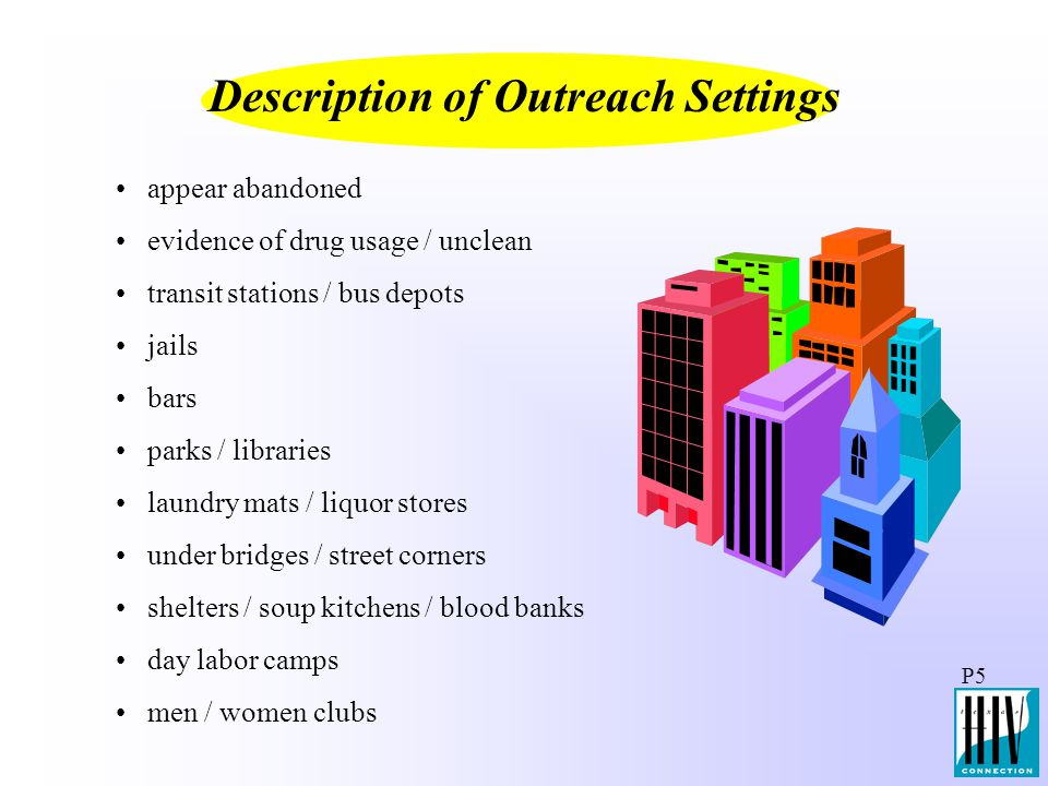 Description of Outreach Settings